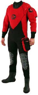 neoprene dry diving suit